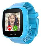 XPLORA GO - Orologio mobile per bambini (senza SIM) - Chiamate, messaggi, modalità scuola, funzione SOS, posizione GPS, fotocamera e contapassi - Inclusi 2 anni di garanzia (BLU)