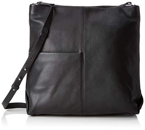Clarks Damen Tallow Park Umhängetasche, Schwarz (Black Leather), Onesize - Clark Taschen Frauen Für