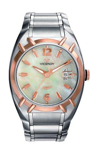 Viceroy 47518-95 - Reloj de mujer de cuarzo, correa de acero inoxidable color plata
