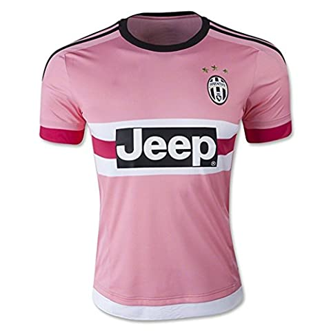 2016 FIGC Serie A Juventus FC Away Football Soccer Jersey In Pink