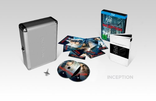 Inception (limitiertes Briefcase inkl. Steelbook, exklusiv bei Amazon.de) [Blu-ray] (Kreisel Inception)
