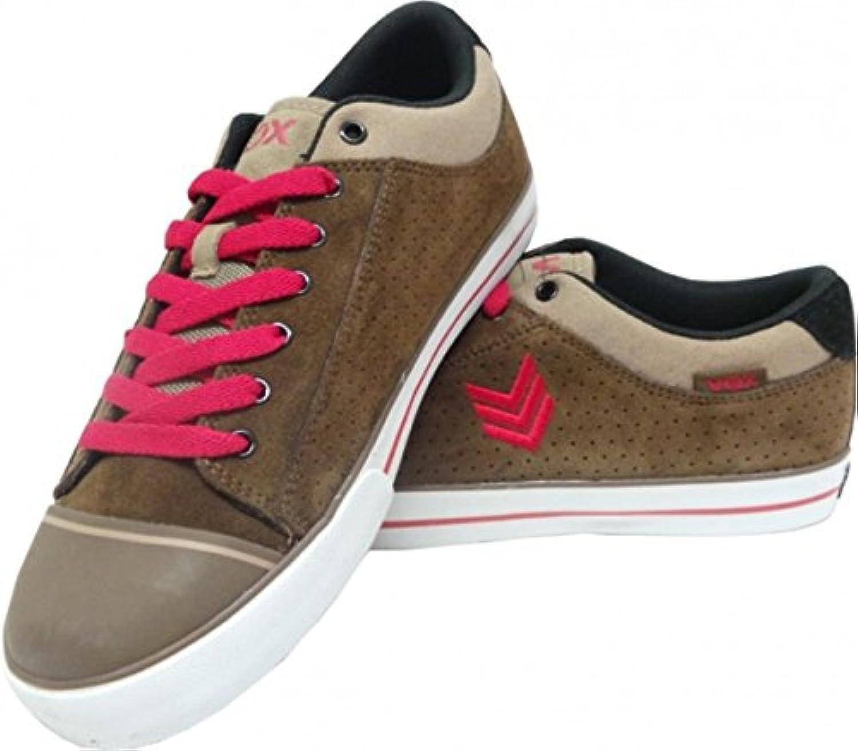 detailed look 8ee6a 911b8 vox skateboard chaussures avenger chocolat   rouge   blanc blanc blanc  b00fbt6u40 parent 76a9e3