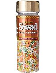 Panjon Swad Mouth Freshener, Colored Saunf, 160g