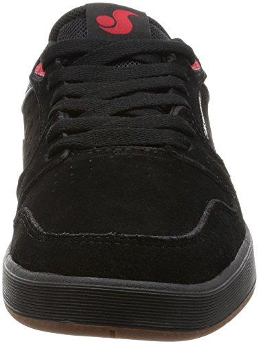DVS Ignition SC black gum/red suede Schuhe Black/Gum/Red Suede