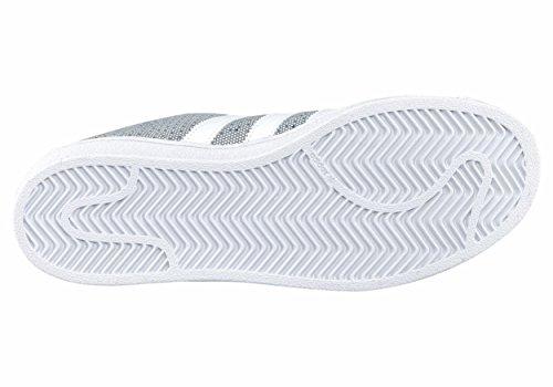 Unbekannt , Baskets pour femme blanc Weiß onix/white