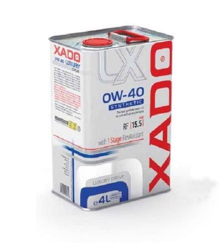 XADO OLIO DI MOTORE 0 W di 40 synthetisch Luxury Drive - con 1 Stage revitalizant Additivo 4 litri