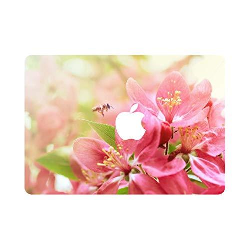 kikhorse Kreative Blume Kollektion Ultra Dünne Hülle Hart für New MacBook Pro 15 Zoll (2016, Touch Bar) (A1707) Honig ernten