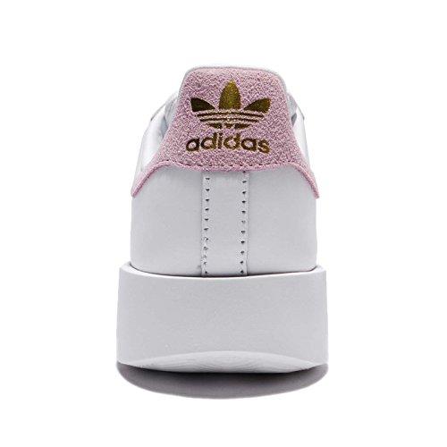 adidas Superstar Bold W, Scarpe da Ginnastica Donna bianco (Ftwbla/Rosmar/Dormet)