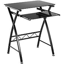 Computertisch glas schwarz  Suchergebnis auf Amazon.de für: schwarzer glasschreibtisch