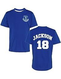 Producto oficial Everton FC personalizada nombre y número camiseta de los niños camiseta de manga corta Everton fútbol ventilador…