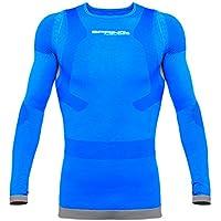 Kompressionsshirt MIT KOMPRESSION Haltungsshirt M Postureshirt Nr. 53 SPRING M/ÄNNER LANGARM POSTURAL SHIRT Gr cobalt//blau