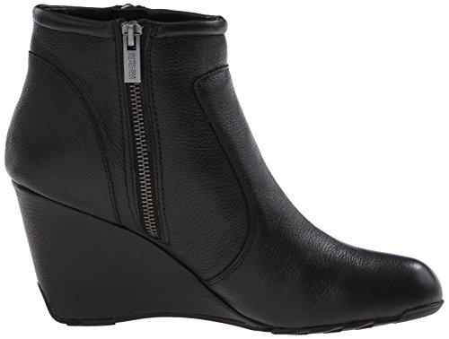 Kenneth Cole Reaction Tell Lily Pad Cuir Bottine Black