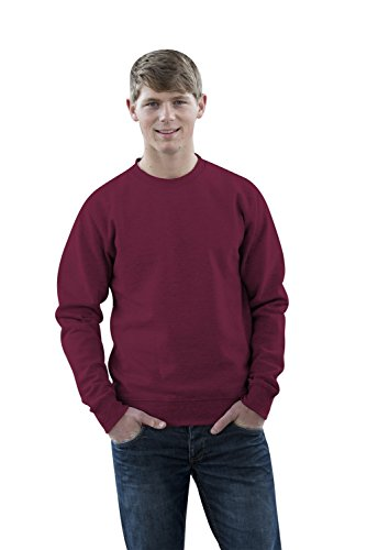 JH030 Sweater Sweatshirt Sweat Sweater Pullover Burgundy