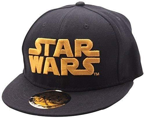 Star Wars - Baseball Cap Kappe - Logo (Grau/Schwarz)