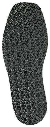 Langlauf Schuhreparatur Zellkautschuk Langsohle Sohle 'Black Star' Schuhsohle 4mm