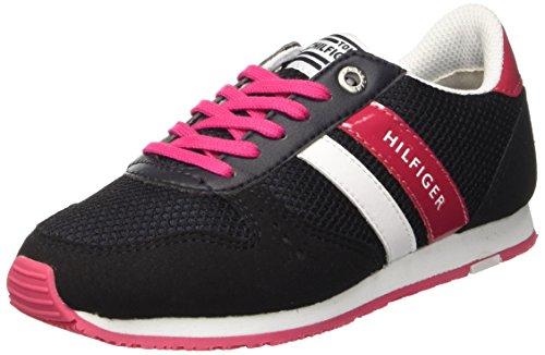 Tommy Hilfiger M盲dchen J3285aimie 14c2 Niedrige Sneaker Mehrfarbig (Midnight 403)