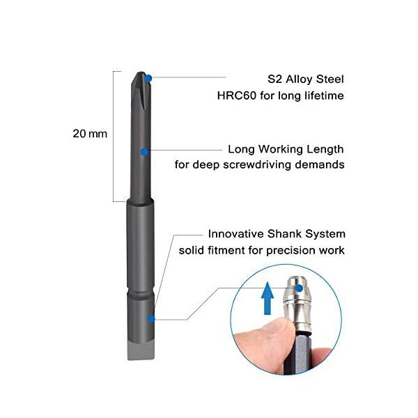 EZARC-Set-di-Cacciaviti-Magnetici-di-Precisione-Kit-Cacciavite-Professionale-Riparazione-per-PC-iPhone-iPad-Orologi-Occhiali-Cellulare-Laptop-Elettronica