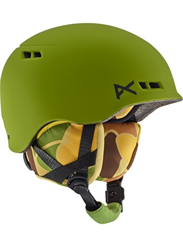 Anon Joven Snowboard Casco Burner, otoño/Invierno, Niños, Color Kamo Green EU, tamaño Small/Medium