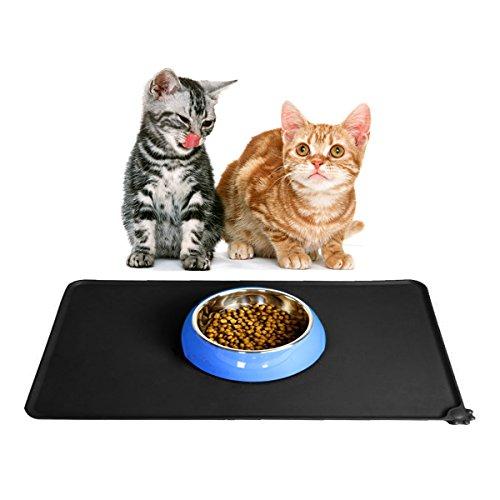 Tovaglietta per ciotole di cibo aodoor premium in - Tappetino riscaldante per cani ...