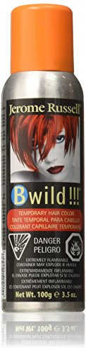 JEROME RUSSELL BWild Temporary Hair Color Spray - Tiger (Hair Spray Orange)