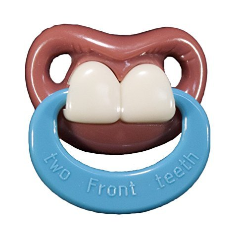 Billy Bob Two Front Teeth Funny Pacifier by Billy Bob