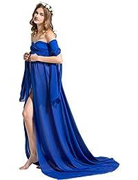Dance Fairy Mujer Embarazada Largos Vestido,Chifón Dress Fotográficas de Maternidad Apoyos De Fotografía Fiesta
