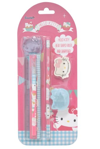 ry Set (Hello Kitty Bleistift Radiergummis)