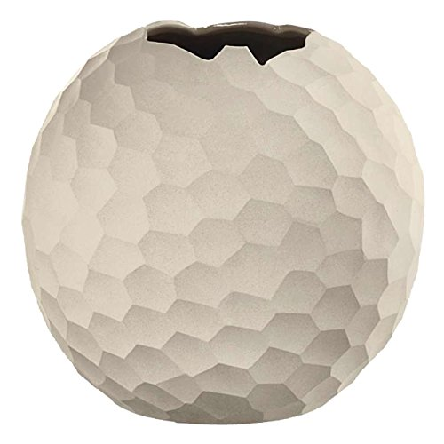 ASA 1339011 Vase Stein, 21 x 21 x 21 cm, weiß