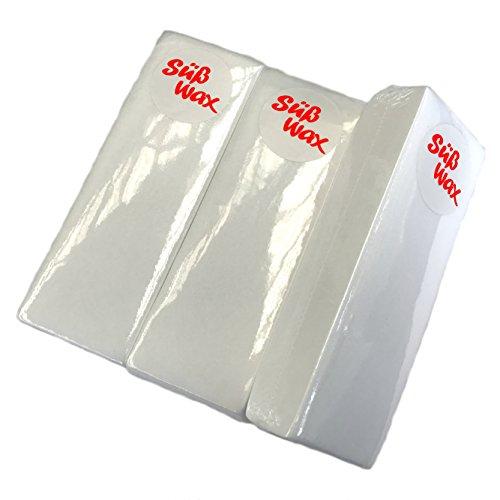 300 Süß Wax Vliesstreifen für Haarentfernung, Wachspatronen, Epilation, Sugaring und Waxing -