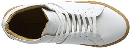 Won Hundred Shoes Herren Weimara_Ankle Sneaker White (Shoe Colour White)