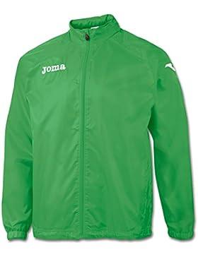 Joma - Chubasquero con forro londres verde para hombre