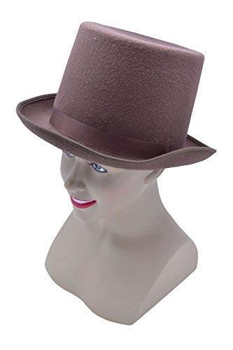 Bristol Novelty bh589Wolle Filz Top Hat, braun, one - Musikalische Halloween-ideen