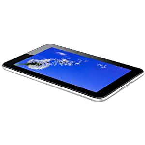 "Haier PAD 712 Tablette tactile 7"" (17,78 cm) AML8126MX Dual Core Arm Cortex A 9 1,5 GHz 8 Go Android 4.1 Jelly Bean Wifi Argent"