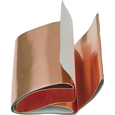 Self adhesive 1 meter guitar copper foil shield shielding brand new