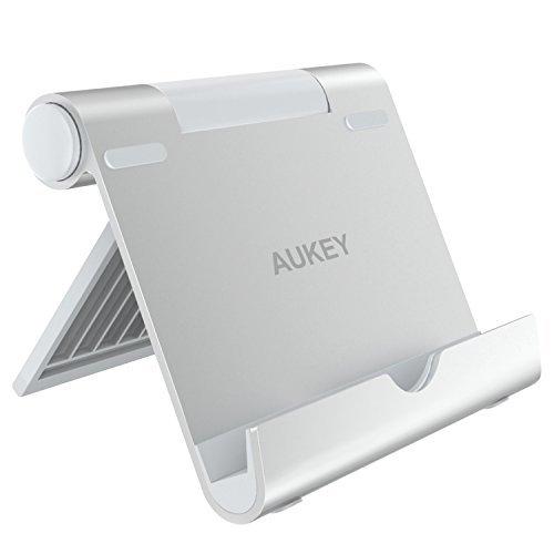 Tablet Halterung Multi-Winkel Zink Legierung Tablet Ständer für Tablets , E-Reader und Smartphones wie iPhone / iPad Air / iPad Mini , Samsung Note 8 / S8 , Sony usw. - Silber