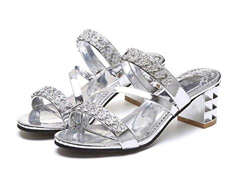 La Diamant Des Sandales Mme Brut Avec Pantoufles Et D'été q8znnxwXB
