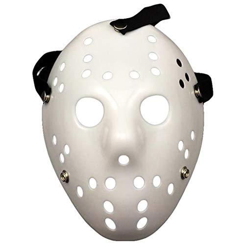 Baipin Amycute Halloween Máscara Jason Blanco, Cosplay