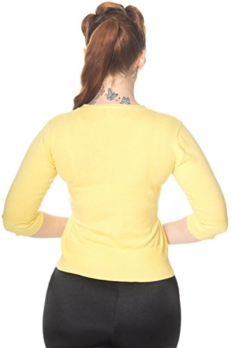 Dancing Days - Gilet - Manches 3/4 - Femme yellow