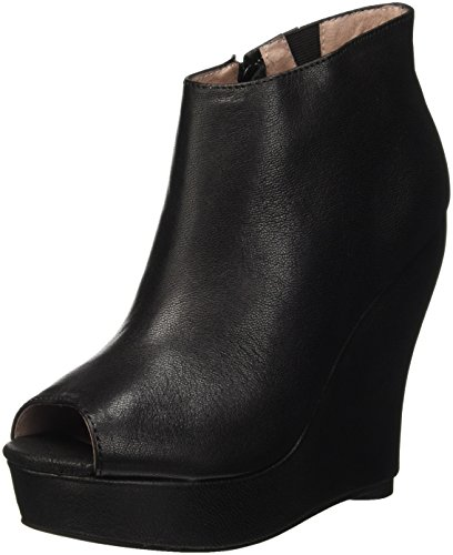 Jeffrey Campbell Tick, Scarpe con Tacco a Punta Aperta Donna, Nero (Leather Black), 40 EU