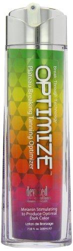 Devoted Creations Optimize Melanin Stimulating to Produce Optimal Dark Color Sunbed Lotion 200ml