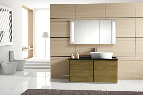 Flacher Spiegelschrank – Superflach 120 cm – San Francisco - 6