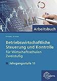 Betriebswirtschaftliche Steuerung und Kontrolle f. Wirtschaftsschulen Zweistufig: Jahrgangsstufe 11 - Arbeitsbuch