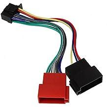 AERZETIX: Adaptador con ISO cables enchufes para autoradio