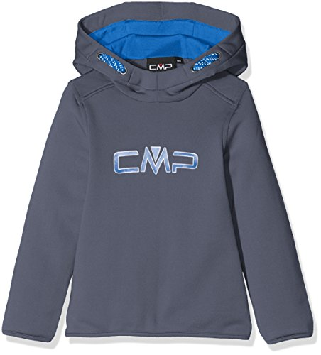 CMP F.lli Campagnolo Jungen Fleece Sweat, Grafite, 152, 3E14344 (Jacke Fleece Kinder)