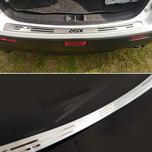 Edelstahl door sill For ASX Zierverkleidungen Kofferraum Stoßstange Board tragen Auto Zubehör
