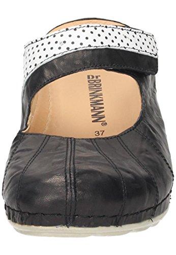 Dr. Brinkmann Damen-Pantolette Schwarz 701204-1 schwarz