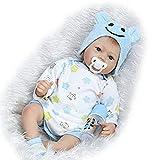 ZIYIUI Pulgadas 55 CM Realistas Bebés Renacidos Niñas y niños Muñecas de Silicona Gemelos de Vinilo Muñeca Bebé Real Touch Bebé Realista Bebé