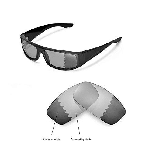 Walleva Ersatzgläser für Spy Optic Cooper Sonnenbrille - Mehrfache Optionen (übergang/photochrom - Polarisiert)