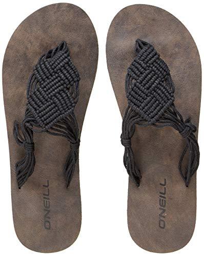 O'Neill Damen FW Crochet Sandals Riemchensandalen, Schwarz (Black Out), 39 EU