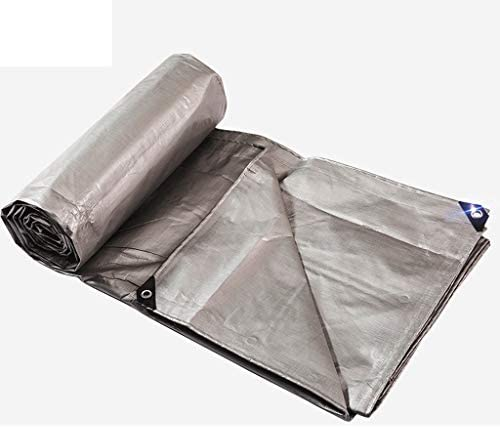 Telone impermeabile impermeabile impermeabile argentoo - copertura antipioggia tetto per auto - tenda da campeggio - telone argentoato, crema solare, anticorrosione, spessore 0,4 mm, 220 g   m2, (varie misure) (Dimensione   2 x 2m) | una grande varietà  | Forte valore  a7cdb0